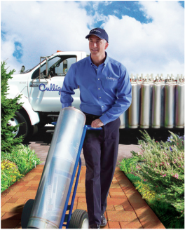 Only Culligan offers the Portable Exchange Tank system for soft water
